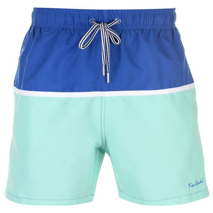 3289a0090a2 Pierre Cardin Panel Swim Shorts Mens in 2019 | Mens swimwear | Swim ...