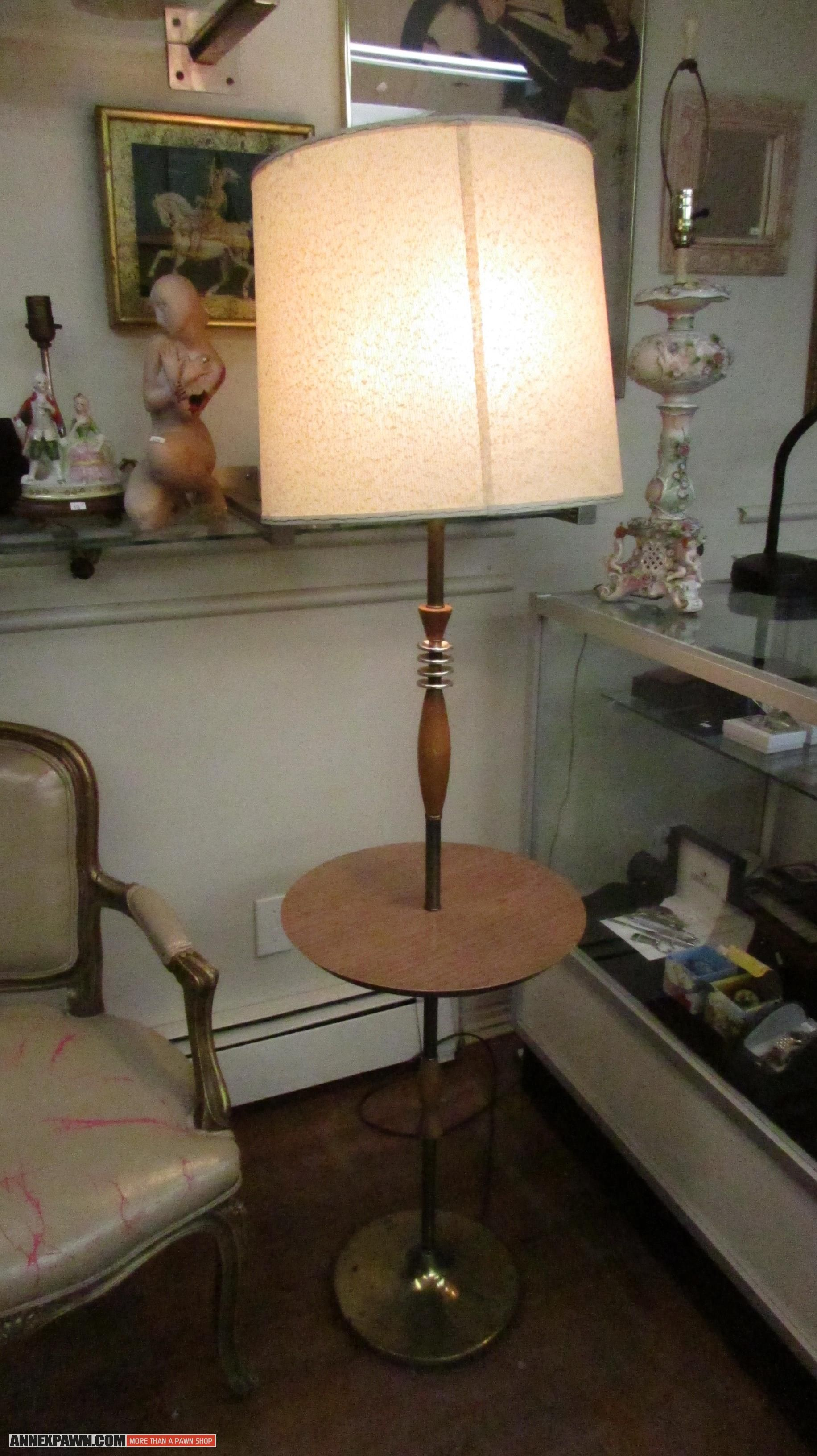 Vintage #1950\'s #Space-Age Jetsons design side table / floor #lamp ...