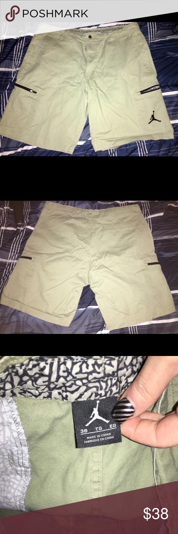 4bff12865c55d9 NWOT Jordan khaki shorts size 38 NWOT Men s Jordan Khaki shorts size 38