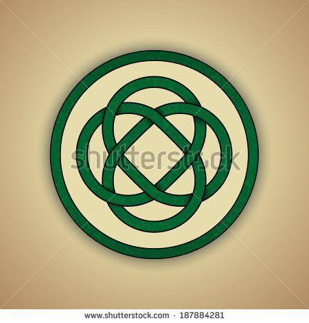 Download Celtic Lovers Knot Symbol of Eternal Love. Vector ...