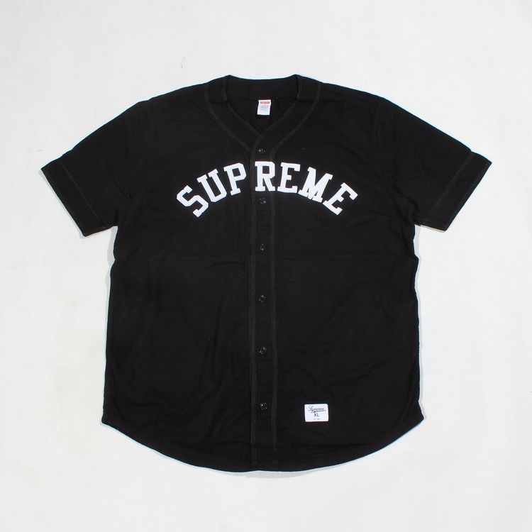 supreme baseball jersey  47d073a5c