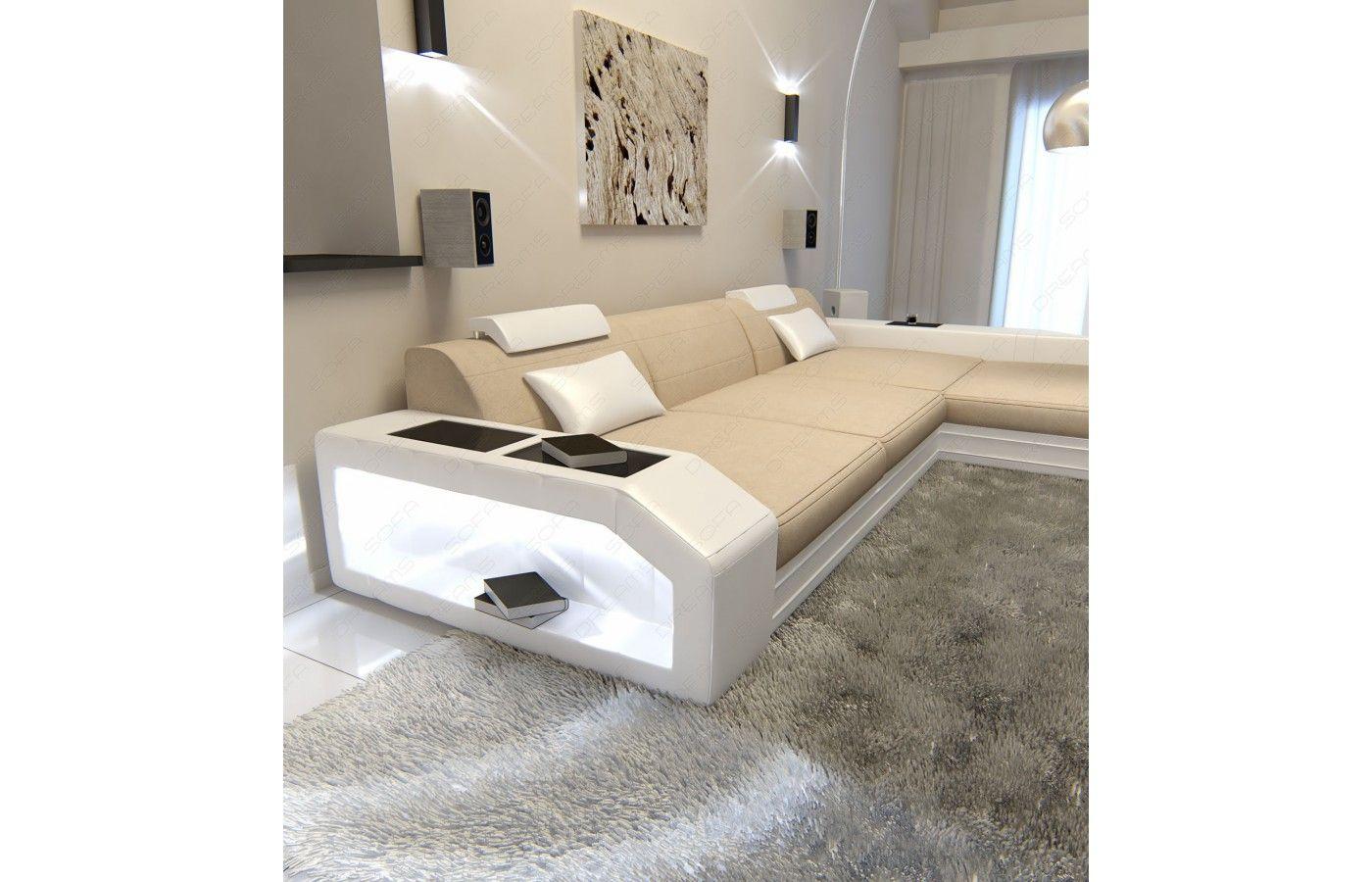 Inspirierend Sofa In L Form Beste Wahl Stoffsofa Prato L-form Beige-weiß. Iv Bei Dreams!