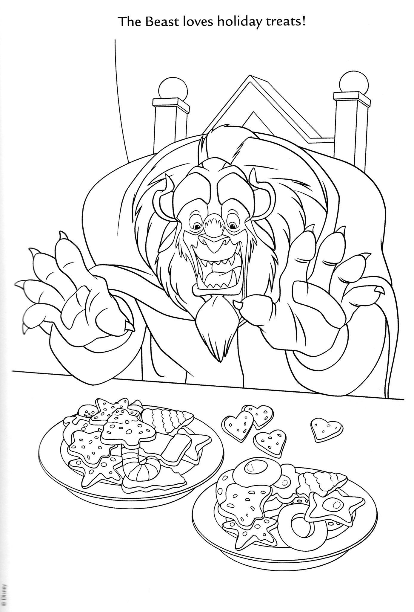 Beauty And The Beast Coloring Book Luxury Pin By K S On Coloring Disney Mermaid Coloring Book Holiday Coloring Book Preschool Coloring Pages