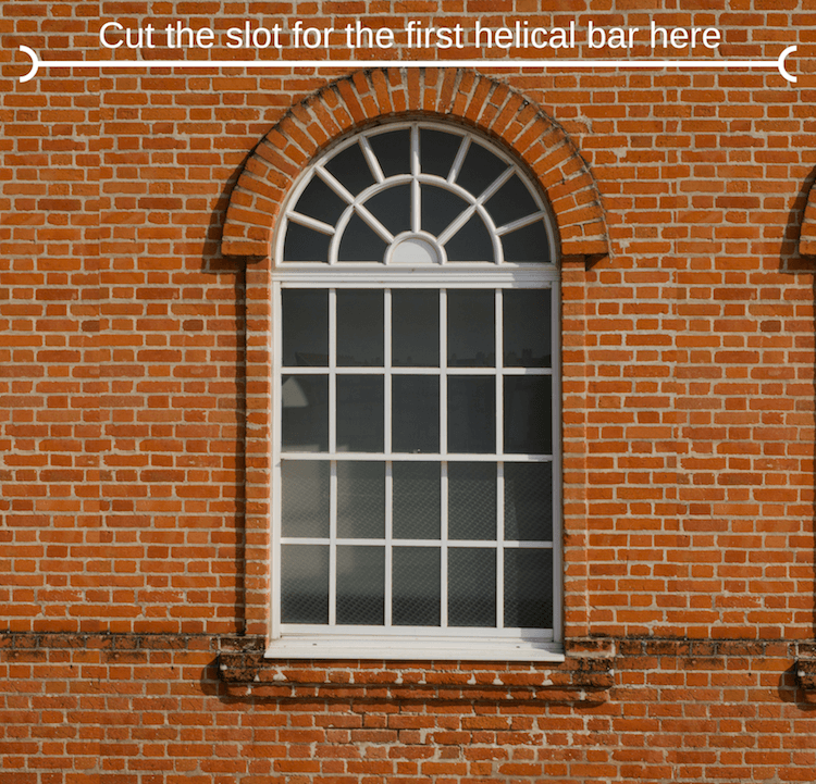 how to replace lintel over window