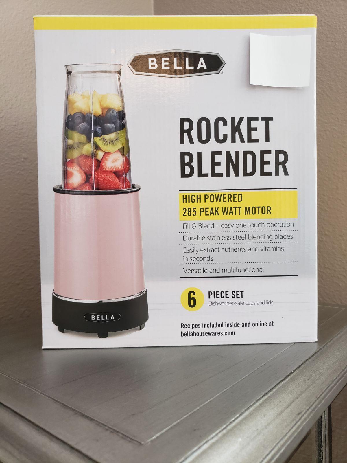 Bella pink rocket blender on mercari in 2020 blender