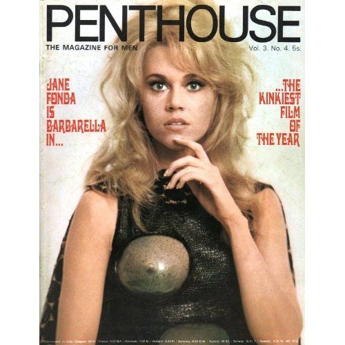 penthouse magazine volume 3 number 4 jane fonda barberella jane fonda actress pinterest. Black Bedroom Furniture Sets. Home Design Ideas