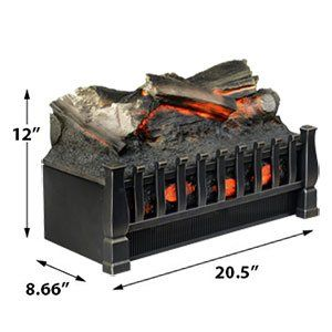 Duraflame 20 In Electric Fireplace Log Set Dfi020aru Electric