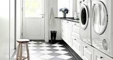 Snygg tvättstuga