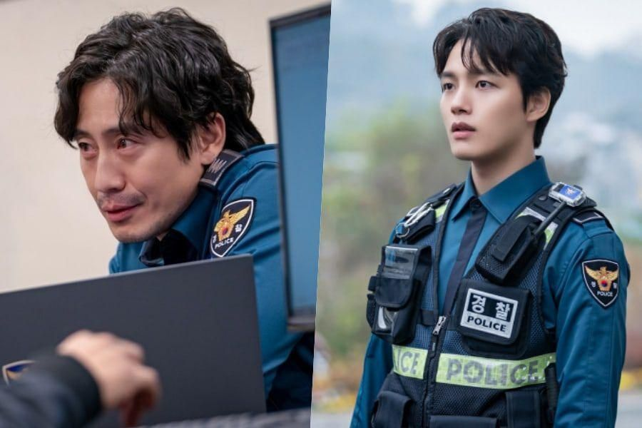 "Shin Ha Kyun And Yeo Jin Goo Transform Into Police Officers With Secrets In Their Past In ""Beyond Evil"""