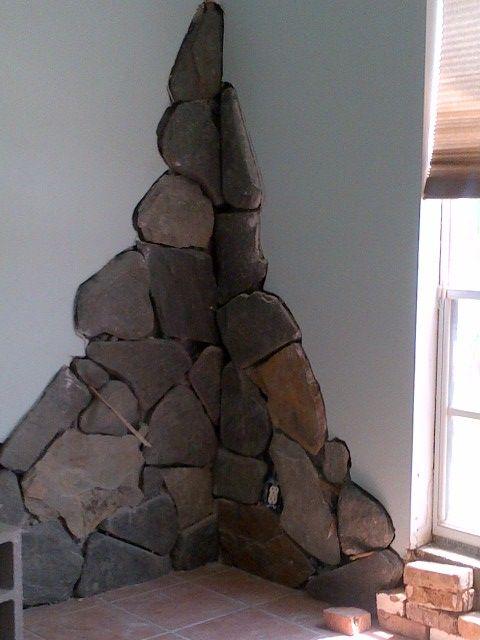 Delicieux Custom Stone Interior Tuscan Wall Veneer The VIKINGu0027s Craft Is In Process    Remington Golf Club, FL