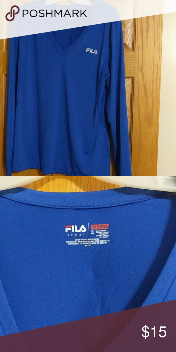 Fila Sport Performance Long Sleeve In very good condition