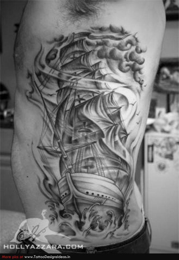 b67528ff7 Ship rib idea? | Tattoos | Ship tattoo sleeves, Tattoos, Tattoo designs