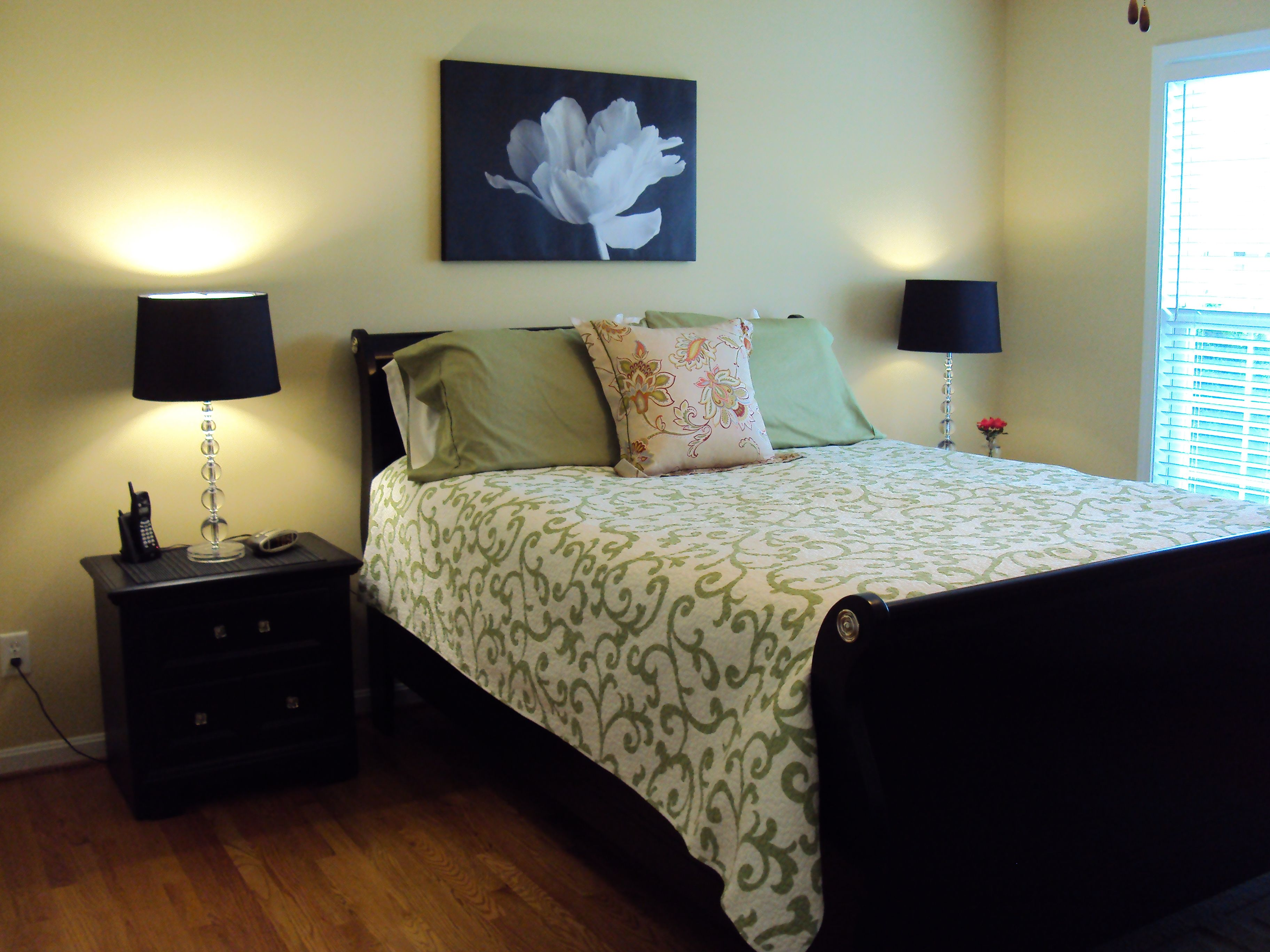 painted black furniture my master bedroom thinking about