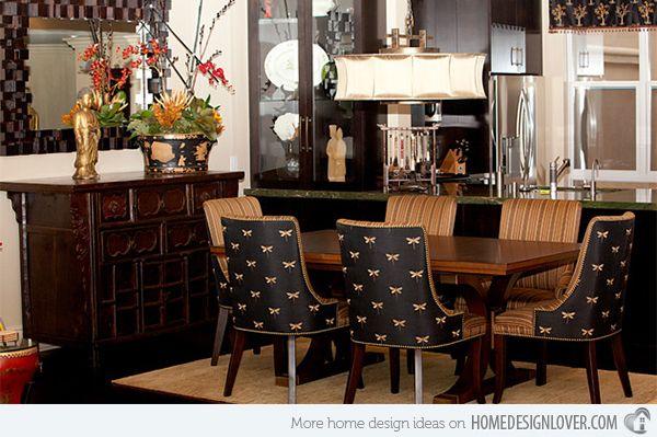 15 Asian Inspired Dining Room Ideas Elegant Dining Room Luxury