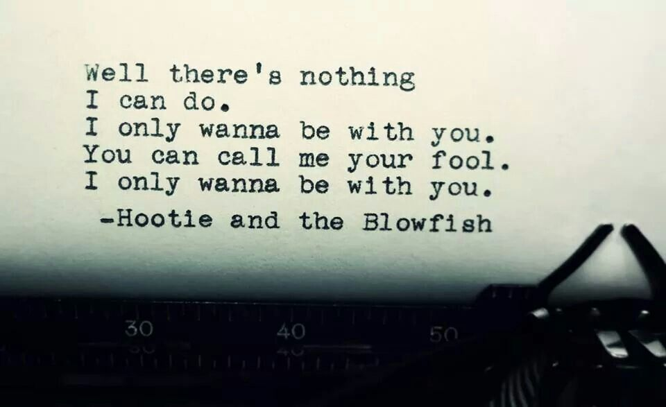 I Only Wanna Be With You Hootie And The Blowfish Lyrics Lyrics