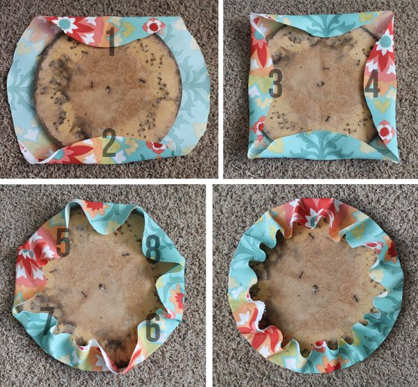 how to reupholster a round chair seat pinterest round chair