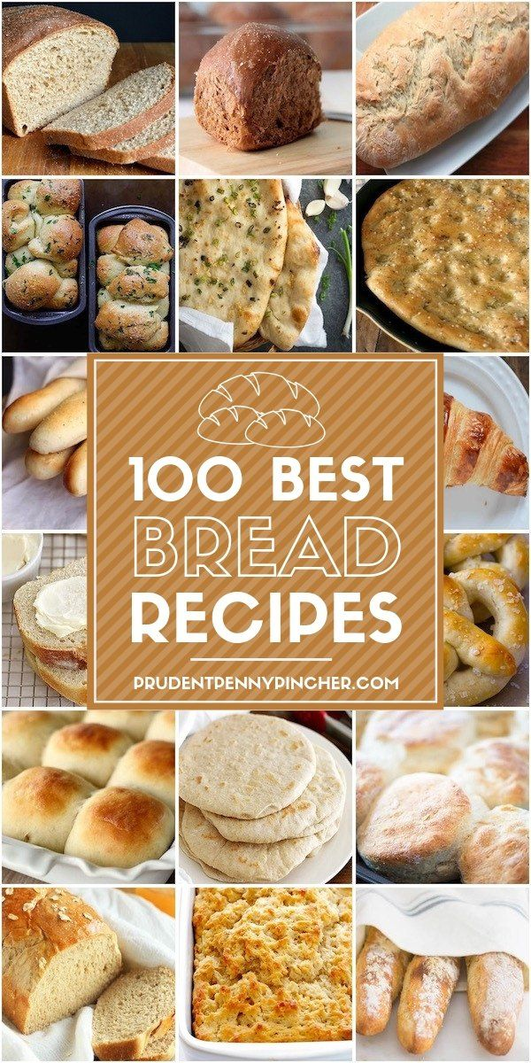 100 Homemade Bread Recipes images