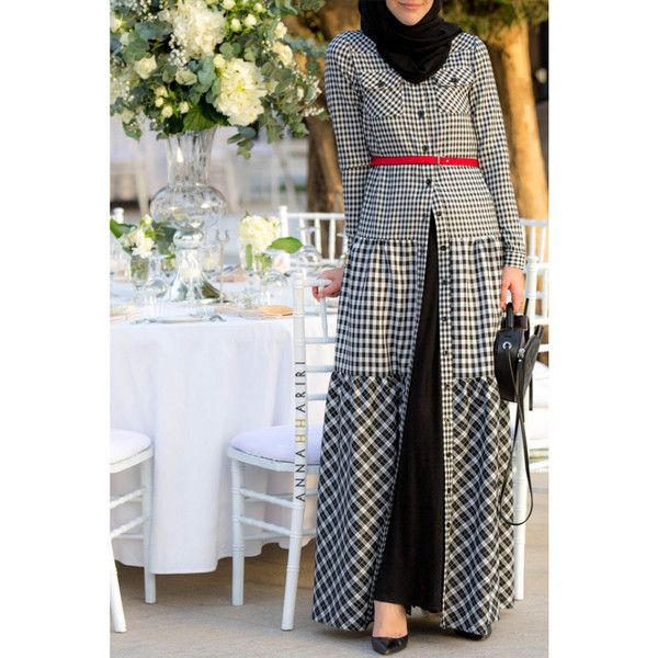 Mode fashion muslimah long dress