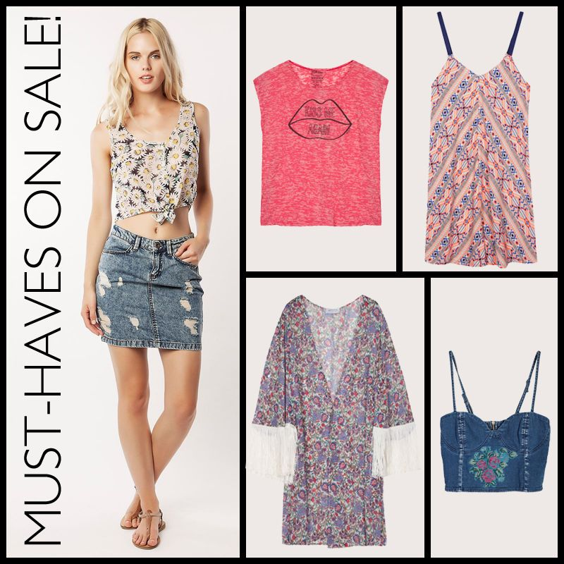 Spread the news. MUST-HAVES on SALE! #BSB_SS14 #SALE #collection