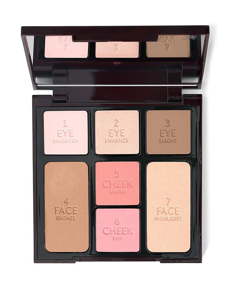 adbcf0ae8b850 INSTANT LOOK IN A PALETTE. Charlotte Tilbury all-in-one face palette ...