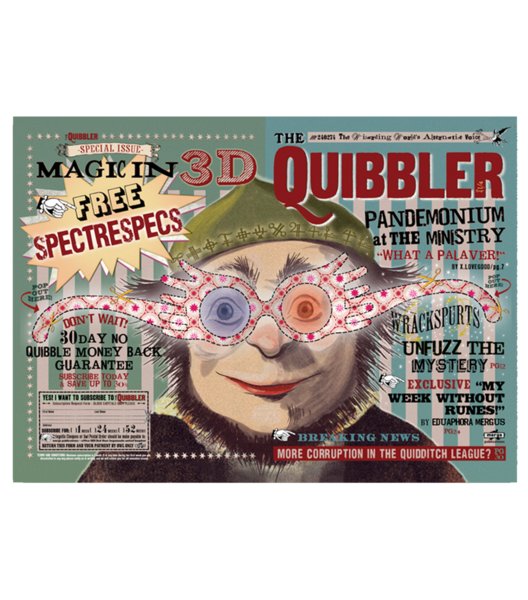 The Quibbler Poster In 2020 Harry Potter Poster Harry Potter Shop Harry Potter Illustrations