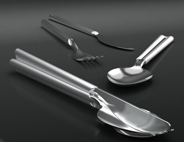 Wonderful Cutlery Set By Designnobis The Clever Design Utilizes Magnets To Bond  Groups Of Utensils Together, Making Them Easy To Set And Ensuringu2026 |  Pinteresu2026