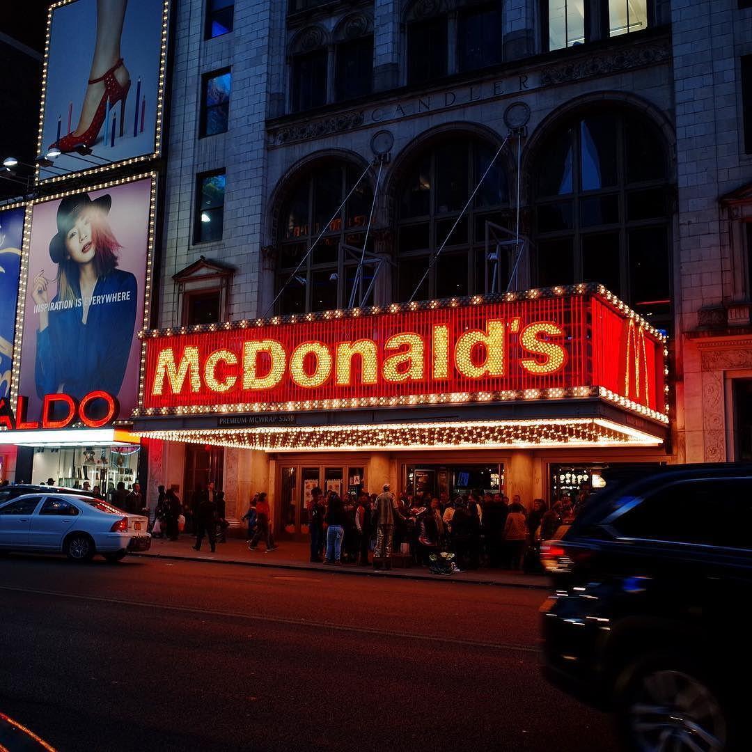맥도날드 뉴욕 #뉴욕 #newyork #nyc #맥도날드 #mcdonalds by woodymansion