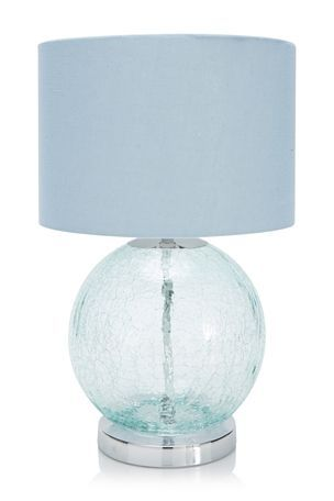 Buy Teal Crackle Table Lamp From The Next Uk Online Shop With