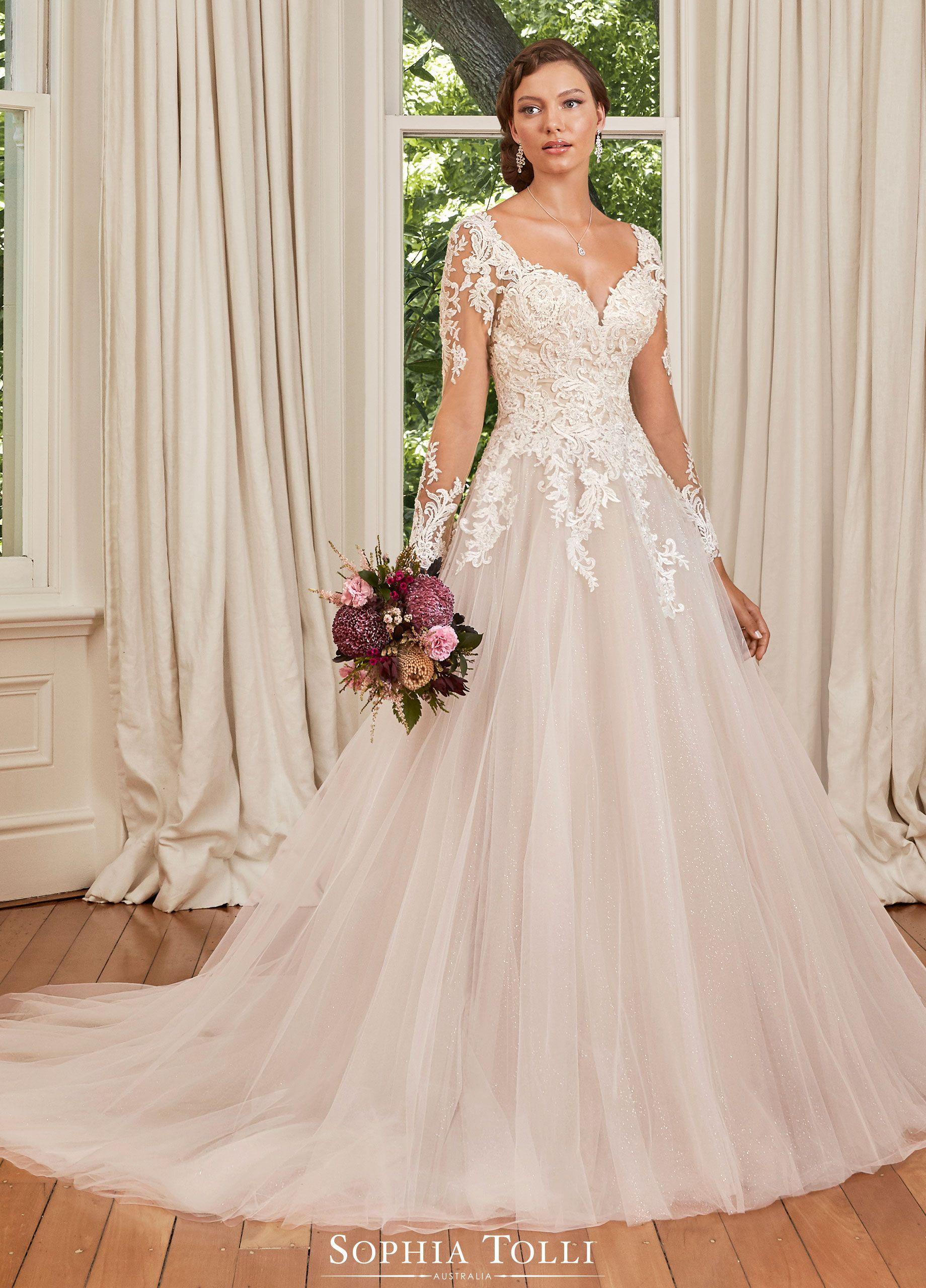 Sophia Tolli Wedding Gowns Y21977b Stephanie Grace In 2020