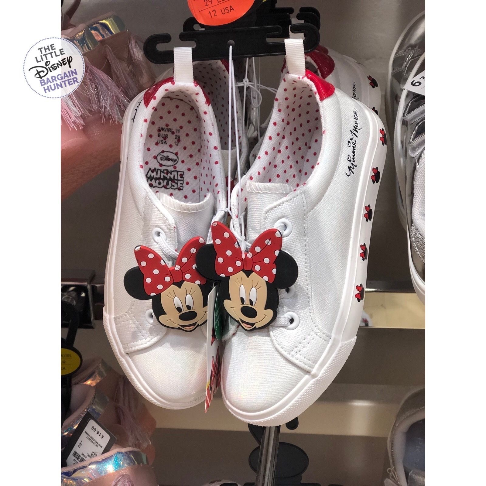 Kids Minnie Mouse trainers spotted in