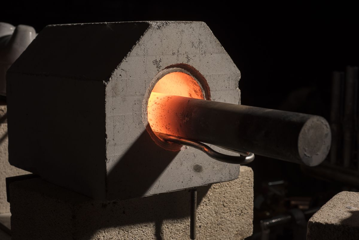 Industrial Forging Preheating With Ambrell Induction Heating Prior To Forging To