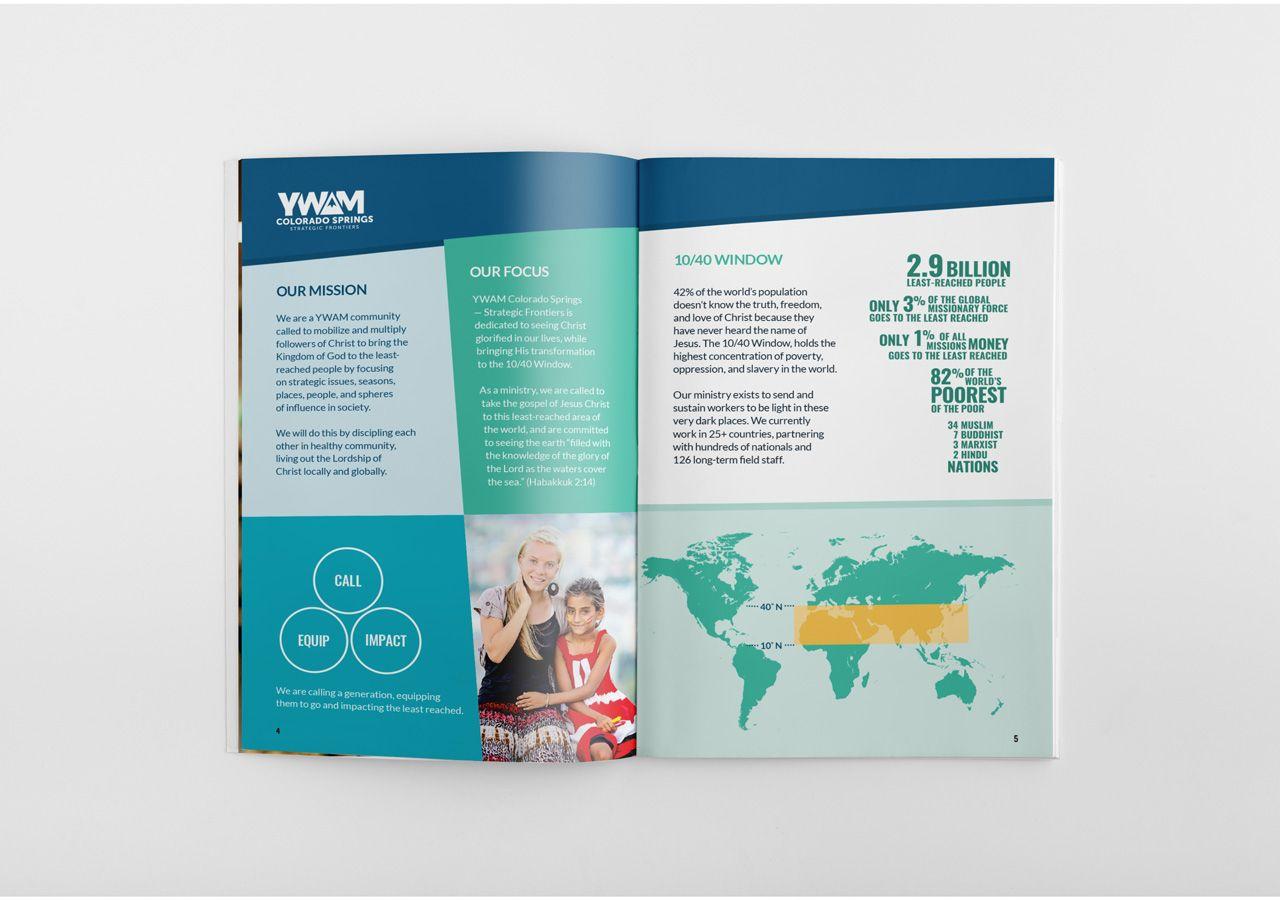 awaken 10 40 fundraising event identity design program booklet