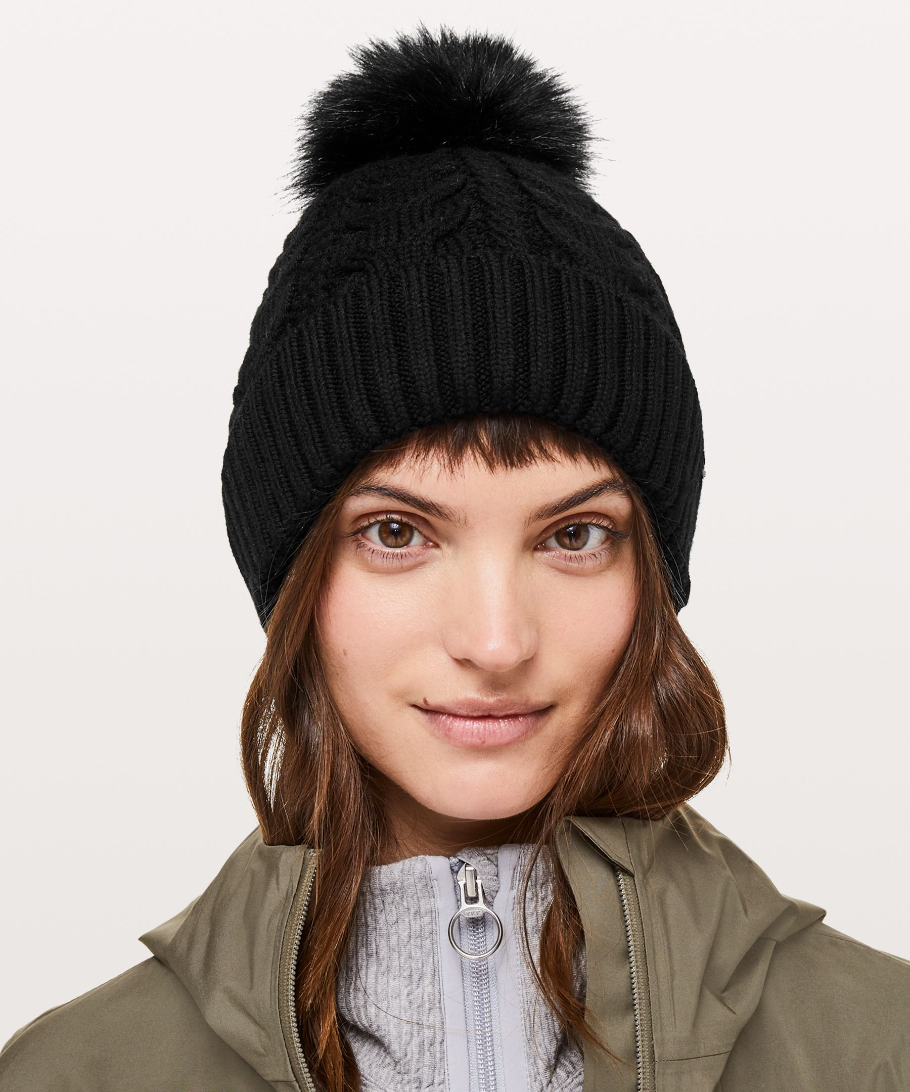 84781a43474 Twisted Bliss Beanie - Stay warm all season long in this cable-knit beanie