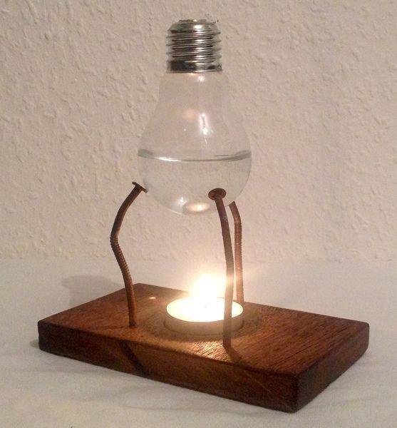 duftlampe lduftlampe rustikel industrial deko von. Black Bedroom Furniture Sets. Home Design Ideas