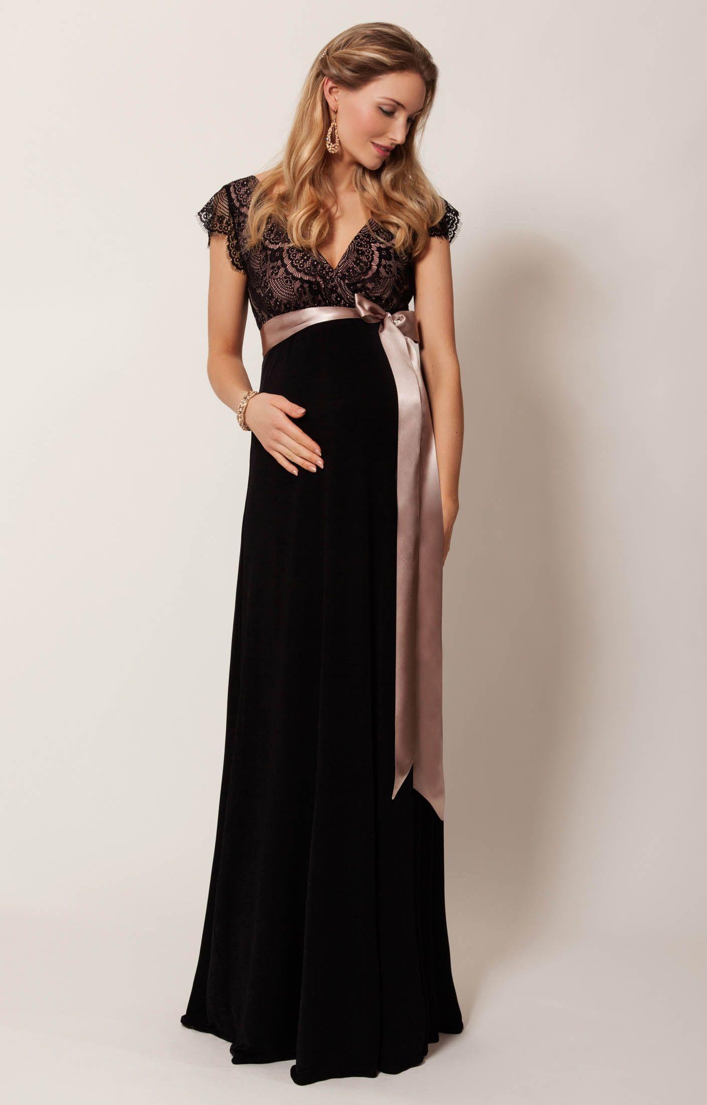 Rosa gown long pregnancy pinterest tiffany rose maternity