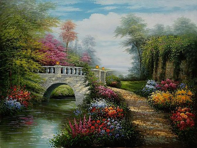 Thomas Kinkade Art: The Painter of Light