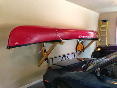 How To Build A Shelf Style Canoe Rack Introduction An Easy Way Store Your Is On Empt