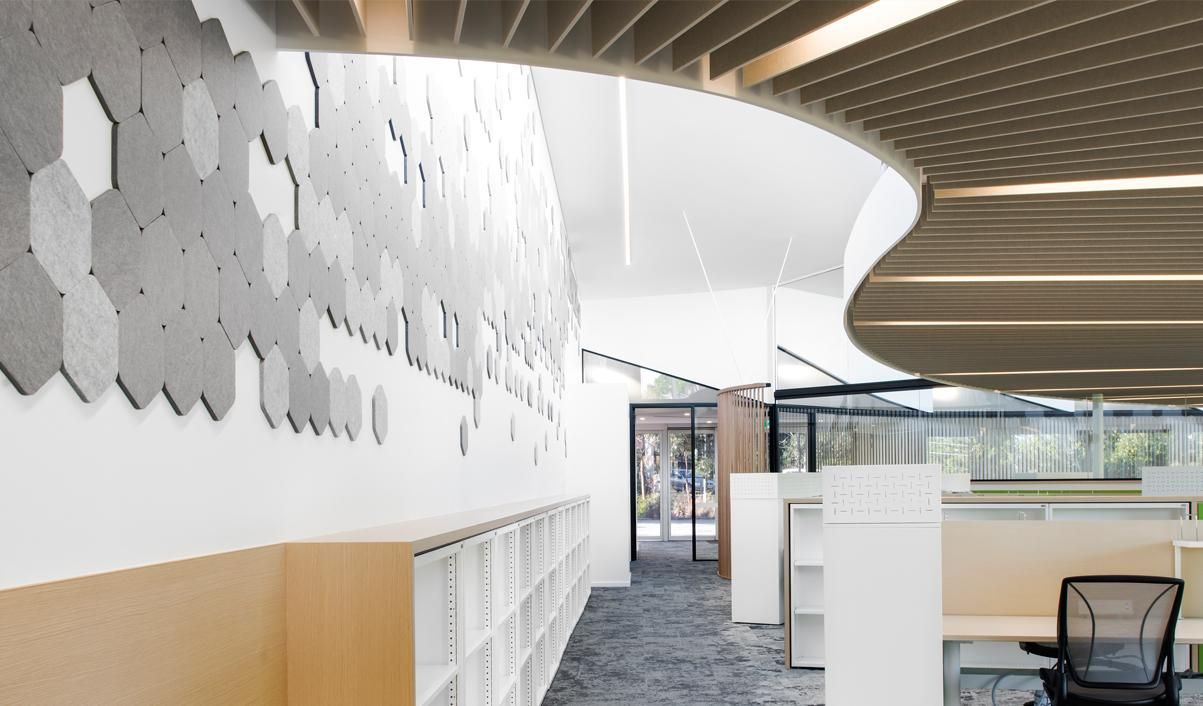 What are acoustic ceiling tiles made of image collections tile acoustic hexagonal tiles and custom acoustic ceiling baffles made ceiling acoustic hexagonal tiles and custom acoustic dailygadgetfo Choice Image