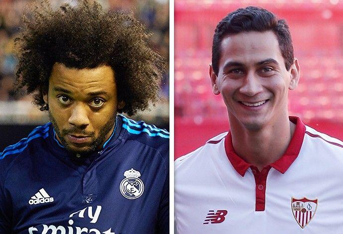 Real Madrid x Sevilla  (Foto: Infoesporte)