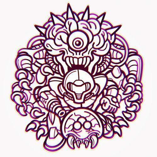 Samus and Metroid Created by Justin Gammon