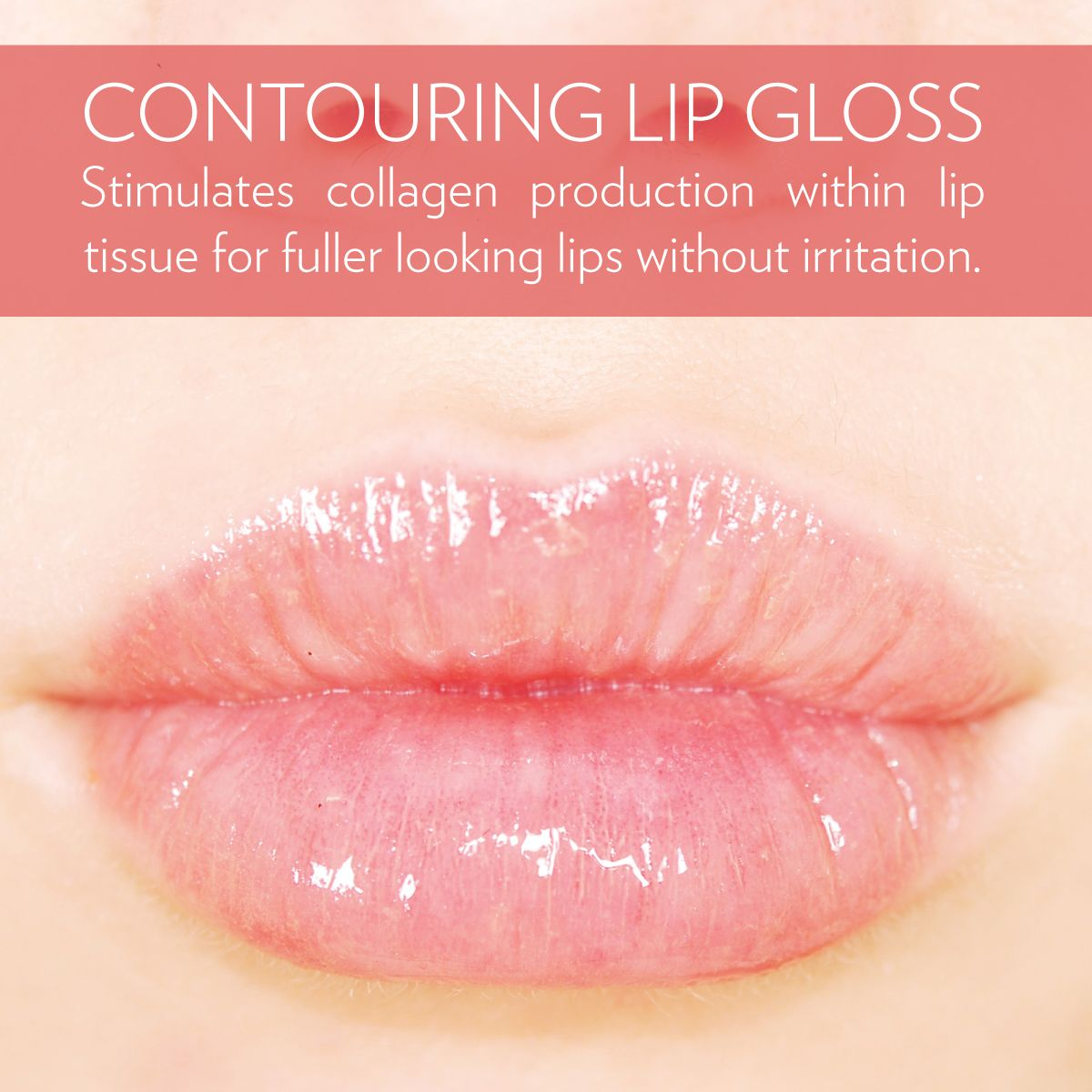 Contouring Lip Gloss Crystal Clear This Ultra Shiny Gloss Features