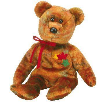 7469bf88494 TY Beanie Baby - KANATA the Bear (Canada Exclusive - Random  Province Territory)