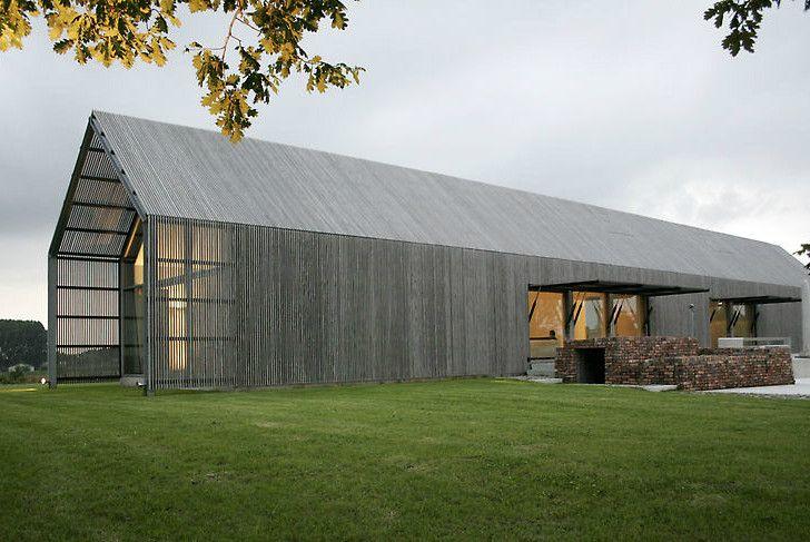 Barn House in Flanders by BURO II & ARCHI+I