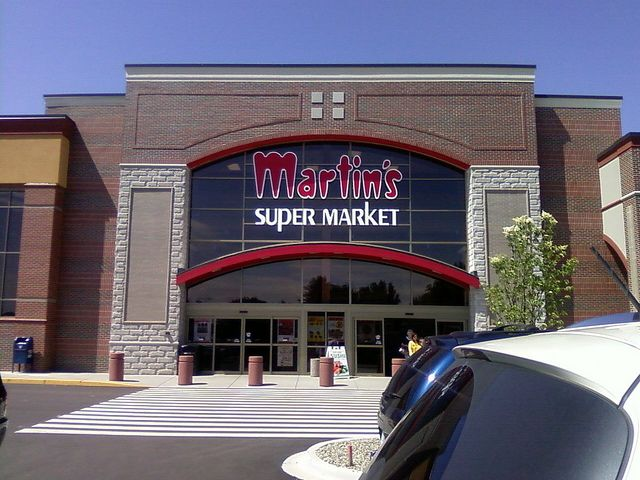 Martin's Supermarket. Just around the corner and super convenient in case you forgot something.
