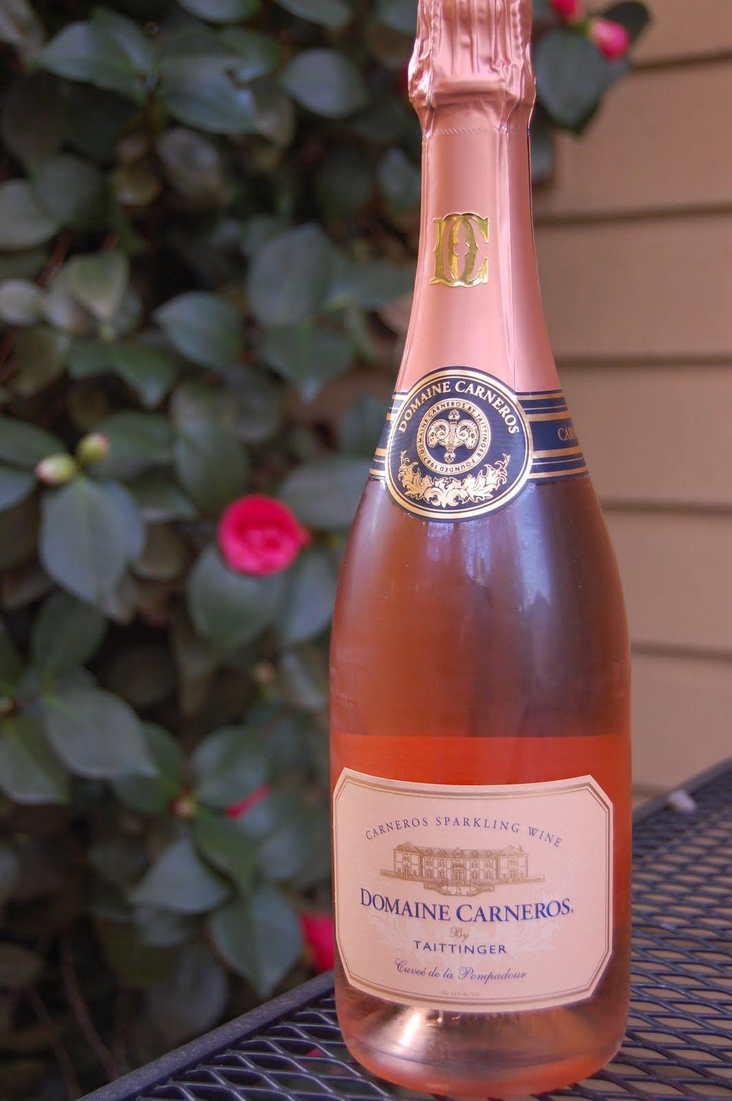 Domaine Carneros Brut Rose Cuvee De La Pompadour Sparklingeverafter Fizz Favorite Wine Wine Press
