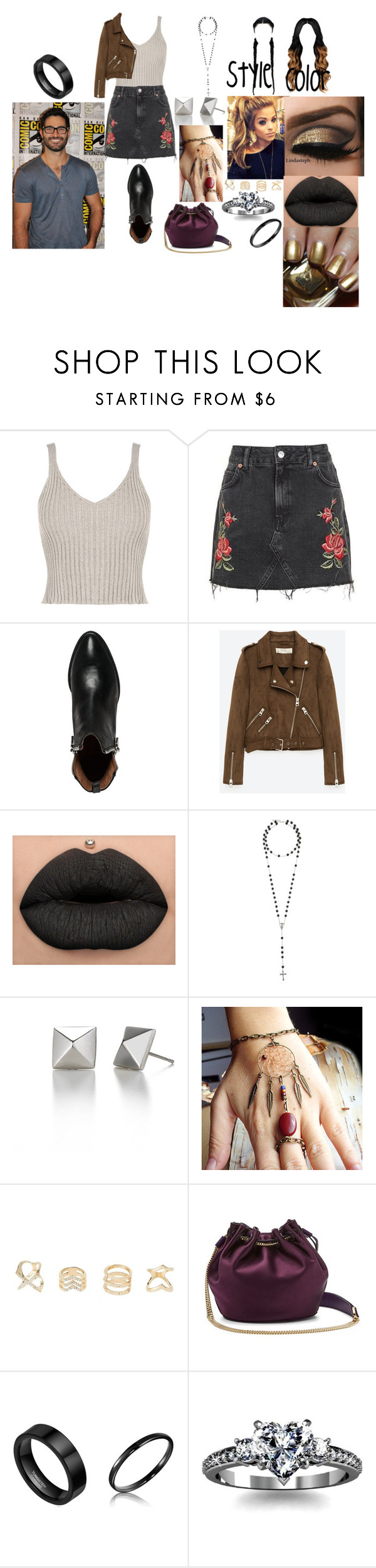 """""""Heart Monitor (Tyler Hoechlin Love Story)"""" by anaeve ❤ liked on Polyvore featuring WearAll, Topshop, Jeffrey Campbell, Freebird, Estée Lauder, Givenchy, Charlotte Russe, Diane Von Furstenberg and Bourne"""