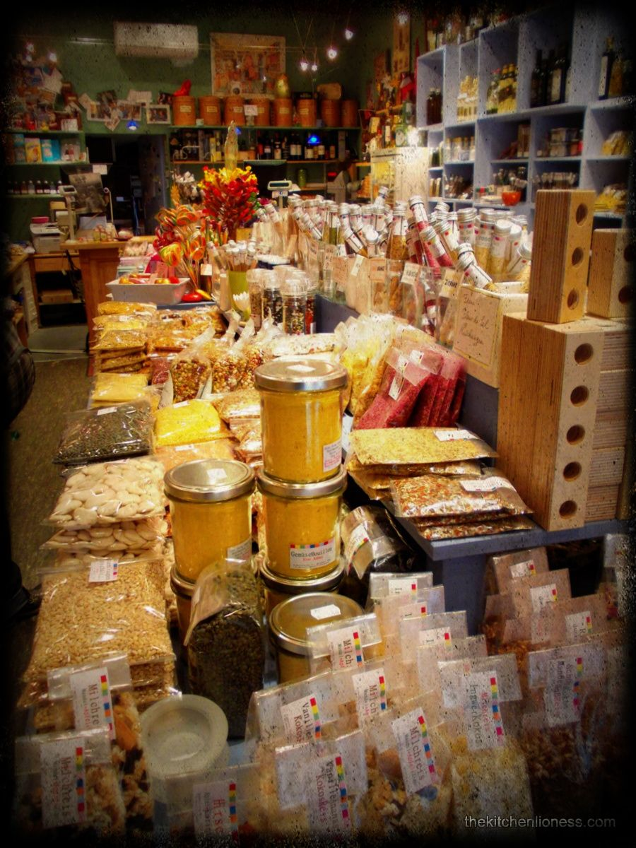 The Kitchen Lioness: Spice Merchant in Wiesbaden, Germany. Very cool store. I used to love shopping here.