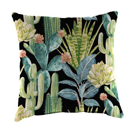 24 Inch X Square Toss Pillow