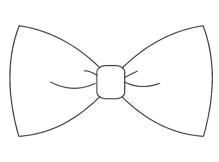 Dibujos De Lazos De Regalo Para Colorear En 2020 Moldes De Corbatas Dibujos De Lazos Moldes De Mariposas