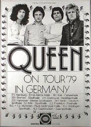 Live Killers Queen Captured Live On Disc In 1979 Udiscover Queen Poster Music Poster Concert Posters